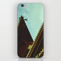 tile roof iPhone & iPod Skin