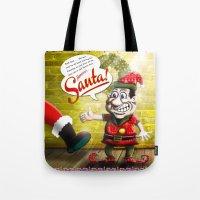 Here's Santa! Tote Bag