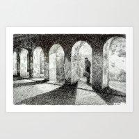 Fingerprint - Arcades Art Print