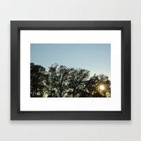 Sunday Evening Framed Art Print
