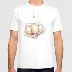 The Hangman White Mens Fitted Tee SMALL