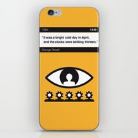 No008 MY 1984 Book Icon poster iPhone & iPod Skin