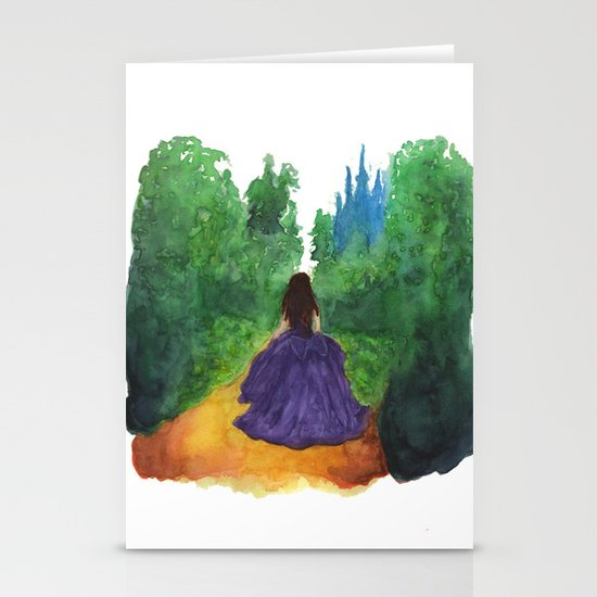 THE ENCHANTED FOREST  Stationery Card