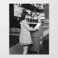Letter Mail Canvas Print