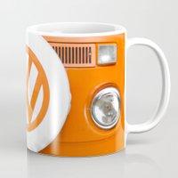 Volkswagen Orange Mug