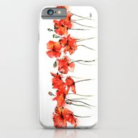 Remember Me _ Poppies iPhone 6 Slim Case