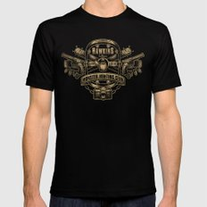 Hawkins Monster Hunting Club Mens Fitted Tee SMALL Black