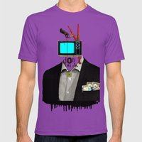 Mankind Motivation 4 Mens Fitted Tee Ultraviolet SMALL