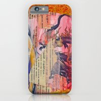 iPhone & iPod Case featuring Collage Love - Zhong Long by sarah mah