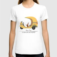 Coco Taxi - Cuba In My M… Womens Fitted Tee White SMALL