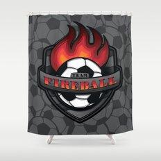 Team Fireball Shower Curtain