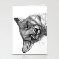 Fox Cub G139 Stationery Cards