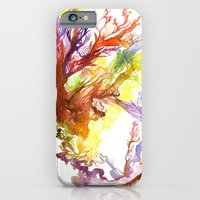 iPhone & iPod Case featuring Volcanic Tango by Gayle Wheatley