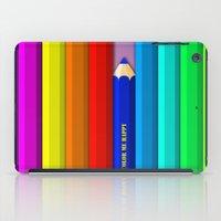 Color Me Happy :)  iPad Case