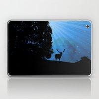 Moon & Deer - JUSTART © Laptop & iPad Skin
