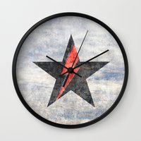 BlackStarMan (waiting In… Wall Clock