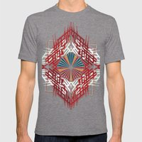 abstrkt placement Mens Fitted Tee Tri-Grey SMALL