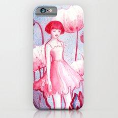Pink Poppy iPhone 6 Slim Case