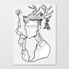 Rust Cohle Canvas Print
