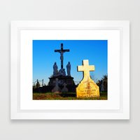 Sister Mary Anastasia Framed Art Print