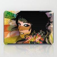Floral Girl iPad Case