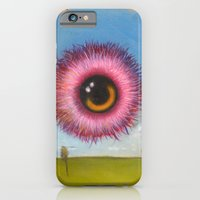 Fuzzy Pink Eyeball iPhone 6 Slim Case