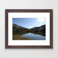 Yakima Canyon Framed Art Print