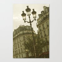 Paris - the Marais II Canvas Print