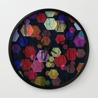 C13 Construct Hex V2 Wall Clock