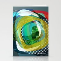 the abstract dream 24 Stationery Cards