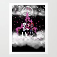 Monster High Art Print