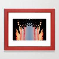 SUMMER SHADOWS Framed Art Print