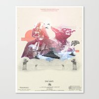 Star Wars  - 3 Canvas Print