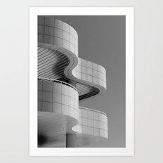 Getty Exterior No.1 Art Print
