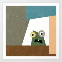 Monster Within  Art Print