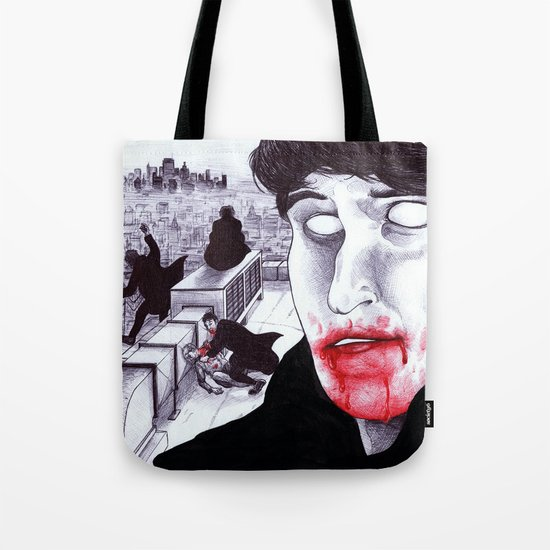 """Modern Vampires of the City"" by Cap Blackard Tote Bag"