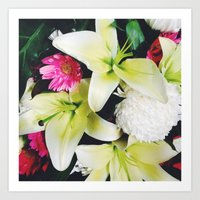 Flowers Galore Art Print
