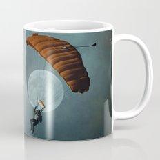 Skydiver's Moon Mug
