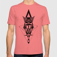 Solar Energy Mens Fitted Tee Pomegranate SMALL
