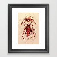 Iron God Framed Art Print