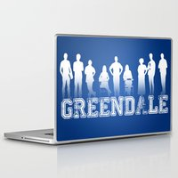community Laptop & iPad Skins featuring Community - Greendale Community College by Jackdoc