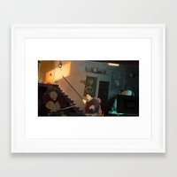 The Basement Dweller Framed Art Print