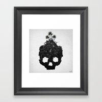 Leftover Technology Framed Art Print