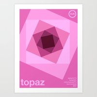 Art Print featuring topaz single hop by committee on opprobriations