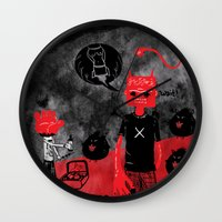Day Off Wall Clock