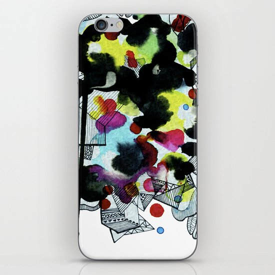 Hanging worlds  iPhone & iPod Skin