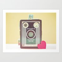 I Heart Photography Art Print