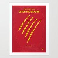 No026 My Enter The Drago… Art Print