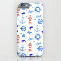iPhone & iPod Case featuring Marin pattern by Lina Littlefield