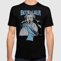 Luke Skywalker Mens Fitted Tee Black SMALL
